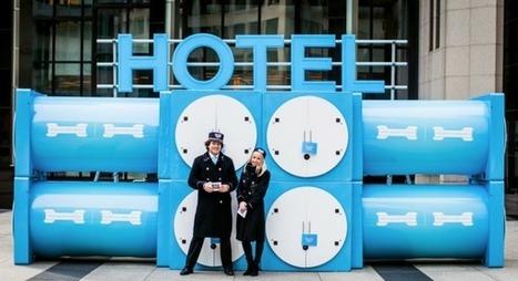 Les hôtels éphémères, une nouvelle tendance de communication événementielle | Evénementiel Culturel | Scoop.it