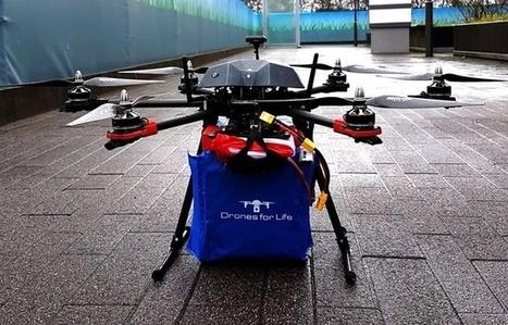 VIDEO. Bordeaux: Des drones vont livrer médicaments et sang aux hôpitaux cet été | Drone | Scoop.it