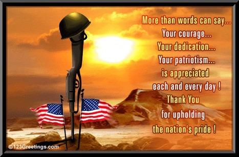 Awakenings: Thank You, Soldiers! | Sizzlin' News | Scoop.it