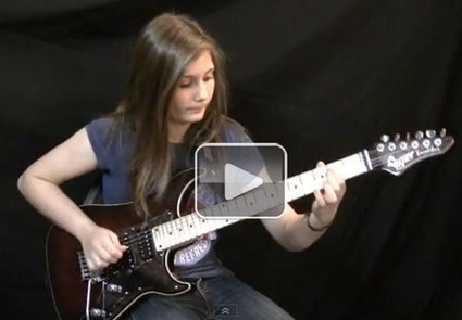 14-year-old girl crushes a Van Halen guitar cover (Video)  This One's for Ivisi!   Corporate Finance   Scoop.it