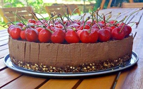 No-Bake Nutella Cake [Vegan, Gluten-Free] | Vegan Food | Scoop.it