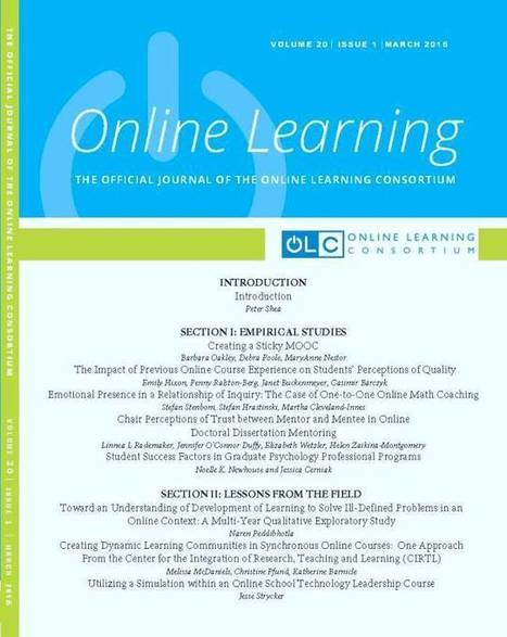 OLC Online Learning Journal | BelendIT | Scoop.it