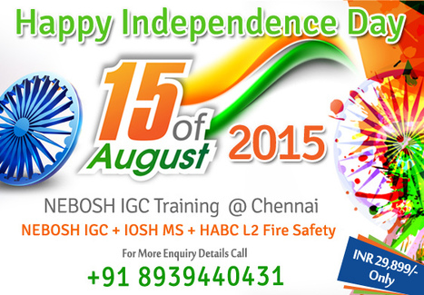 Happy Independence Day | Nebosh courses | Scoop.it