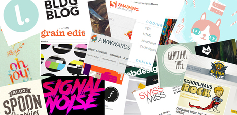 Top 100 Design & Inspiration Blogs: Go Media & Friends Favorites | GoMediaZine | Technology and Education | Scoop.it