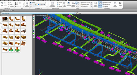 Autodesk's Fabrication CADmep is a mechanical detailing software for MEP Contractors | BIM Forum | Scoop.it