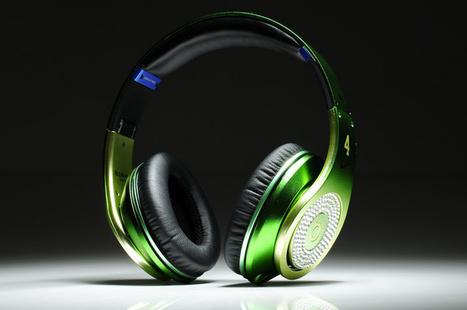 Beats Studio Headphones Apple Green With Diamond Edition | Cheap Beats Studio Diamond for sale | Scoop.it