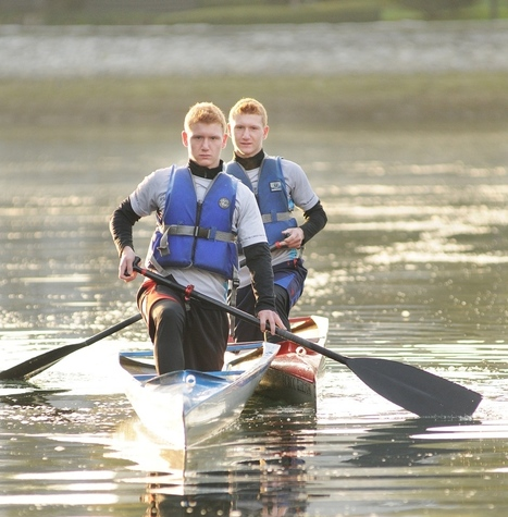 Vancouver twins find focus on the water - Vancouver Courier | I love boating | Scoop.it
