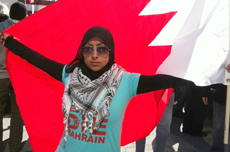 Exiled and 24: The Young Woman Fighting for Bahrain   Human Rights and the Will to be free   Scoop.it