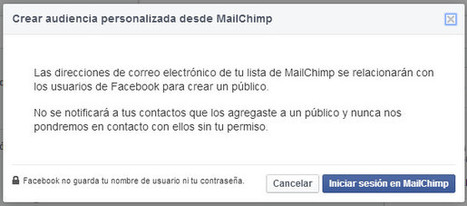 Custom Audiences y MailChimp - Súmate, Marketing Online | Social Media | Scoop.it