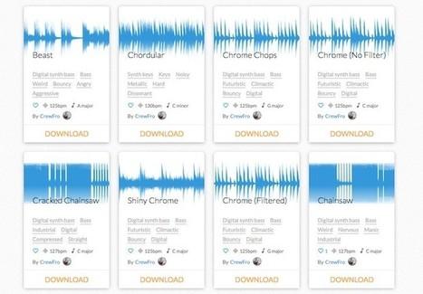 Una web para descargar muestras de sonidos | Recull diari | Scoop.it