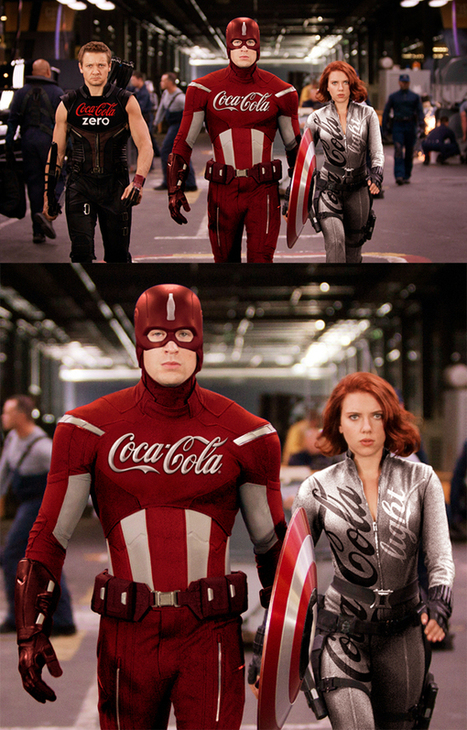 Imagine if superheroes were sponsored by brands…Superman, Batman, Wolverine & more get makeovers | Public Relations and Brands | Scoop.it