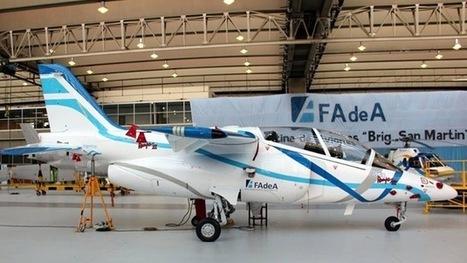 Argentina presenta el primer prototipo del avión de entrenamiento ... | Aviones | Scoop.it