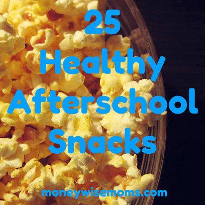 25 Healthy Afterschool Snacks   Parenting Randomness   Scoop.it