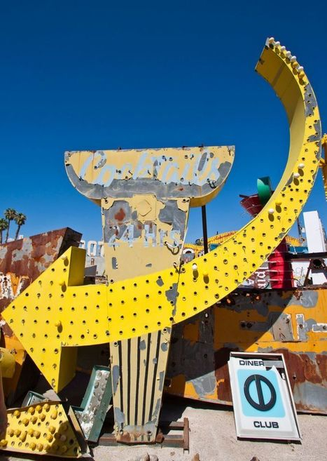 Neon Boneyard: Final Resting Place of Sin City's Most Iconic Signs | Modern Ruins, Decay and Urban Exploration | Scoop.it
