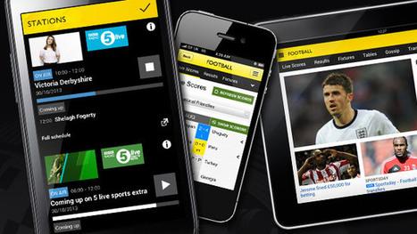 BBC Sport App adds radio streaming | Radio 2.0 (En & Fr) | Scoop.it