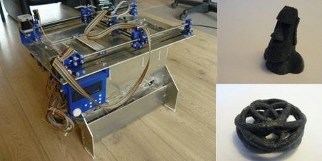 Plan B: An Open Source Powder Based 3D Printer | Heron | Scoop.it