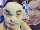 Bizarre face mask turns in to BUBBLES when applied to the skin | Strange days indeed... | Scoop.it