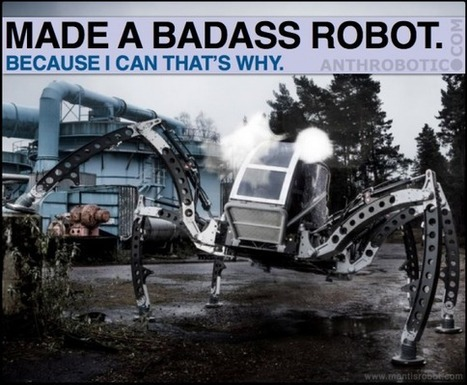Matt Denton (MANTIS) and Kogoro Kurata (KURATAS) are Robotics Rockstars | AI, NBI, Robotics & Cybernetics & Android Stuff | Scoop.it