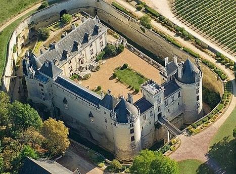 Brézé (M-et-L) et son étonnant réseau souterrain, côtoie désormais les prestigieux noms du Val de Loire inscrit au patrimoine mondial del'Unesco | Merveilles - Marvels | Scoop.it