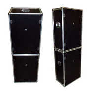 Photo Booth Set - 2 ATA Style Cases w/Wheels - 'Do It Yourself' Cutouts - Black | Photobooth | Scoop.it