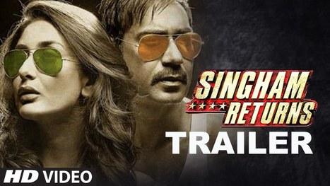 Singham Returns Official Movie Trailer | Bollywood Movies HD Video Songs | Scoop.it