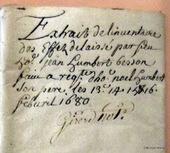 Dans l'intimité d'une famille au XVIIe siècle ~ Généalogie & histoires en Dauphiné | GenealoNet | Scoop.it