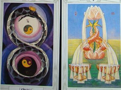 Beyond Tarot Intensive: Female Two's (Cups & Pentacles) | Tarot Reading | Scoop.it