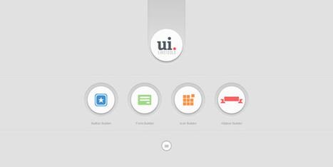 Les ressources web du lundi #49 - inspiration-ressources | Webdesign, ressources et tendances. | Scoop.it