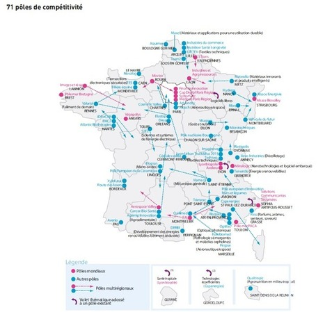 [Infographie] Réseaux, pôles, clusters : l'innovation collaborative dans les territoires | Clusters & structuration touristique, The topic | Scoop.it