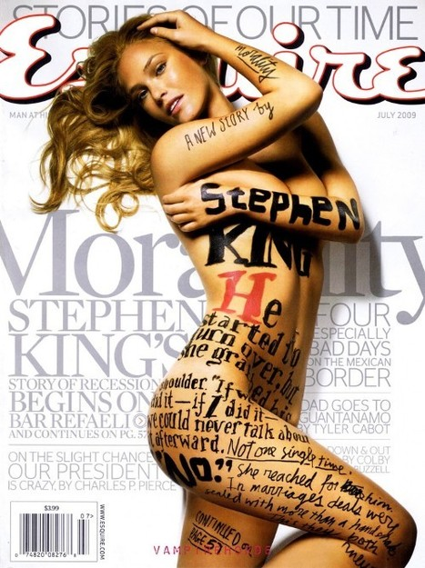 Esquire Stephen King cover | Starsnews | Scoop.it