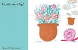 Spanish Ebook – La primavera llegó | Preschool Spanish | Scoop.it