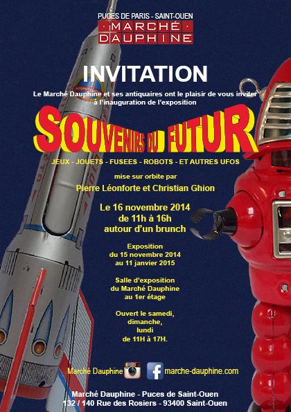 http://thetouristinparis.com/en/souvenirs-du-futur-an-exhibition-for-the-families-at-les-puces-de-saint-ouen-flea-market/ | les expositions CULTure au Marché Dauphine. | Scoop.it