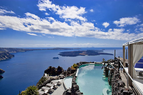 Honeymoon petra villas, Hotels in Imerovigli Santorini Greece | Goldenlist | Scoop.it