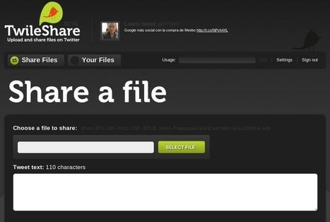 Mini-Guía: comparte archivos a través de Twitter con Twileshare - EntreClicK.com | Cajón de sastre Web 2.0 | Scoop.it