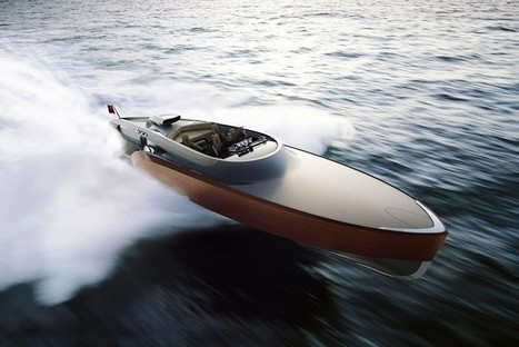 Claydon Reeves Debuts Rolls Royce-Powered Aeroboat Inspired by the Spitfire | Lucien scoop | Scoop.it