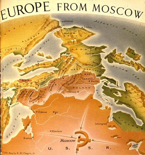 L'europe vue de Moscou | Mon mémoire sur la frontière et la ligne. | Scoop.it