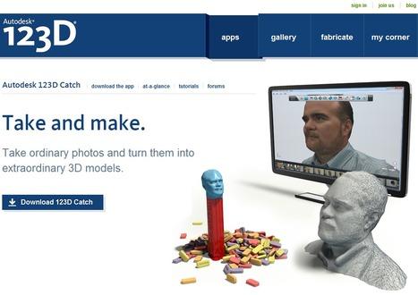 Autodesk 123D - 123D Catch turn photos into 3D models | Je, tu, il... nous ! | Scoop.it