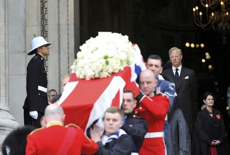 Margaret Thatcher's Funeral in Pictures | Unknown Knowledge | Scoop.it