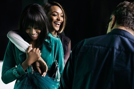 Burberry's Spring Campaign with Naomi Campbell and Jourdan Dunn | Best Fashion Week | Scoop.it