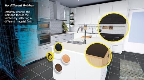 Ikea-keittiön voi tulevaisuudessa suunnitella virtuaalilasien avulla | Augmented Reality & VR Tools and News | Scoop.it