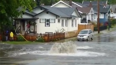 Flash flooding in Metro Vancouver from thunderstorm - CBC.ca | Vancouver | Scoop.it