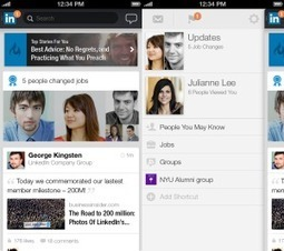 """Après Viadeo, LinkedIn se remet à la promotion """"mobile""""   General mobile stuff   Scoop.it"""
