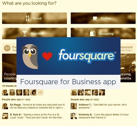 Manage Your Foursquare Presence using HootSuite | Social | Scoop.it