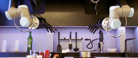 Robot chef that can cook any of 2,000 meals at tap of a button to go on sale in 2017 | Post-Sapiens, les êtres technologiques | Scoop.it