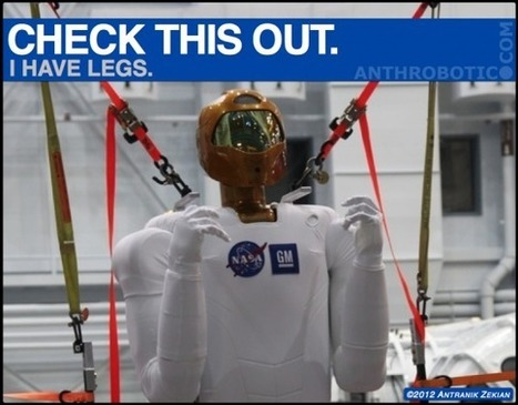 Robonaut Prepping for Bipedal Locomotion! | The Robot Times | Scoop.it