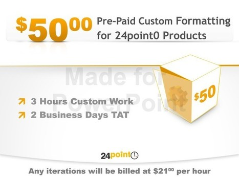 Customized PowerPoint Products Voucher | Design Better PowerPoint Presentations | Scoop.it