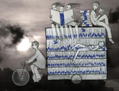 Montreuil : la bibliothèque sur roues bientôt dans les rues | architecture & design en bibliotheques | Scoop.it