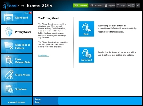 East-tec Eraser : Protect your personal data from prying eyes | Best Free Software | Scoop.it