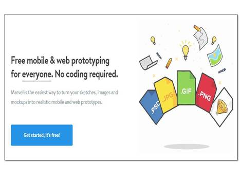 Free mobile & web prototyping for designers – Marvel (̶◉͛‿◉̶) | Design Arena | Scoop.it
