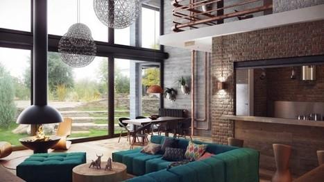 Loft industriel cosy   Mobilier et décoration pour la maison   Scoop.it
